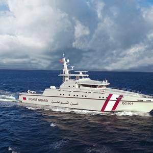 Qatar's New Patrol Boat Completes Sea Trials