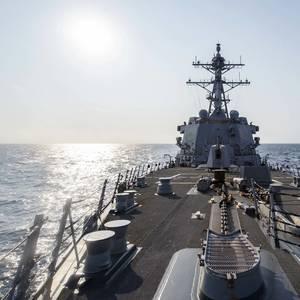 US Sails Warship Near Taiwan