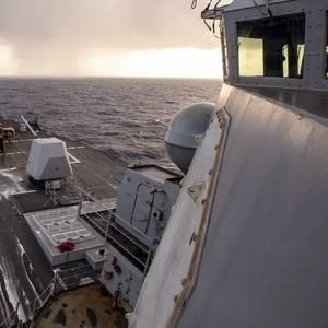 Repair Work Begins on USS William P. Lawrence