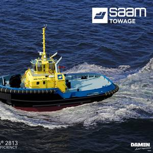 SAAM Towage Contracts Damen for Tug Vessel