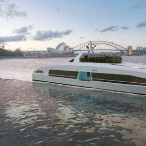 Austal Launches 46m Fully Electric Ferry Design