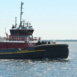 ESG Delivers Z-Drive Tug to McAllister