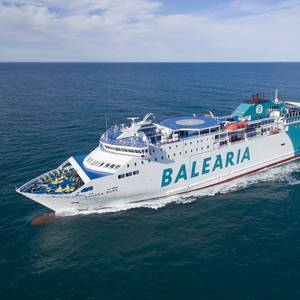 Three Balearia Ferries to Convert to LNG