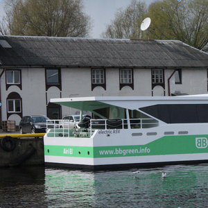 First 100% Battery Powered Air Supported Vessel Launched