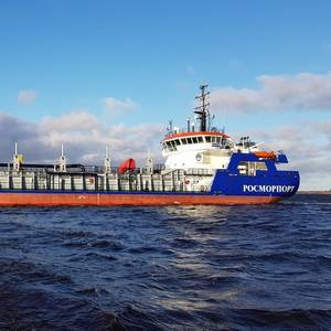 Fast Delivery of Beloe More to Siberian Harbor Before Winter