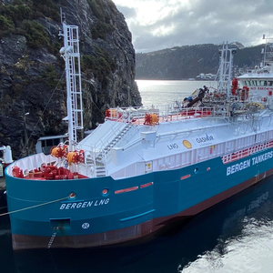 Norway's First LNG Bunkering Vessel Enters Service