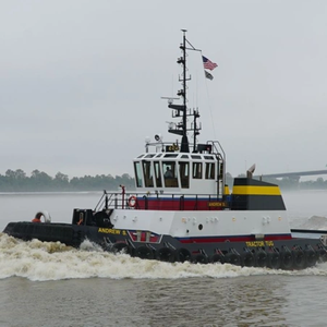 Caterpillar Supplies Engines for Tier 4 Tug