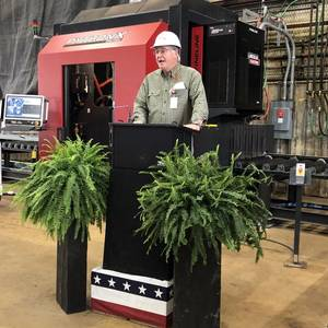 Halter Marine Gearing Up for Icebreaker Build with New Plasma Cutter