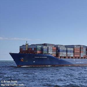Pirates Holding Containership Crew Hostage in Gulf of Guinea
