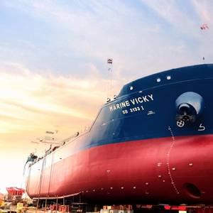 Keppel On Track to Deliver Dual-Fuel Bunker Tanker