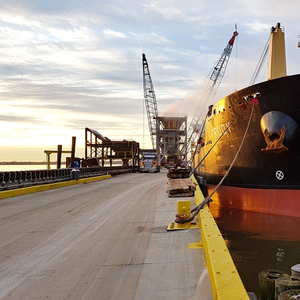 M/V Trudy Takes on Biofuel Bunkers in Rotterdam