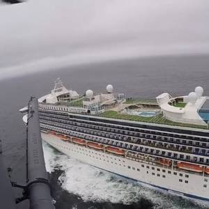Video: Coronavirus Test Kits Flown to Grand Princess