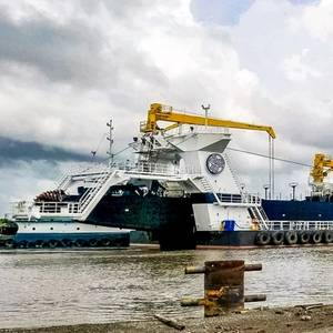 Callan Marine's New Dredge General MacArthur Enters Service