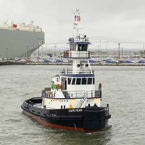 Vane Brothers Takes Delivery of New Tug Cape Fear