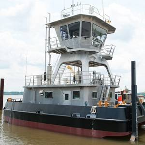 MTI Launches Its First Push Boat