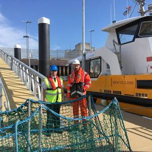 Vattenfall Pontoon Launched in Aberdeen