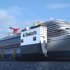 Boskalis Floating Dock to Fix Carnival Vista