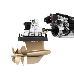 Cat's Pod Propulsion for Yachts