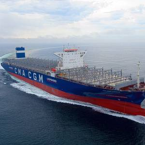 World's First LNG-powered Very Large Containership Delivered