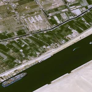 Investigation Begins Into How Ever Given Got Stuck in Suez Canal