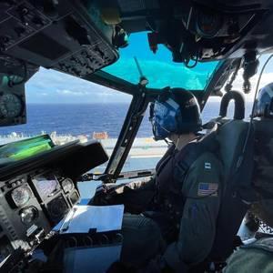 Car Carrier Crewman Medevaced off Hawaii