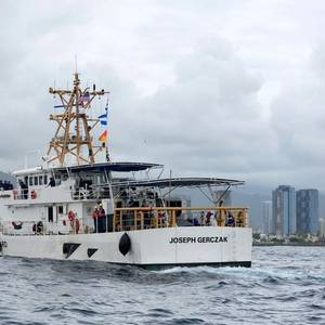 USCG Cutter Joseph Gerczak Arrives in Hawaii