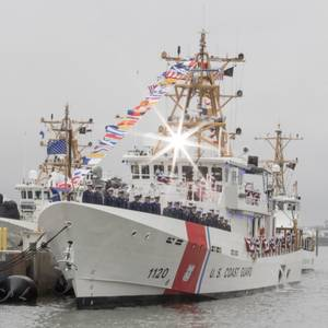 Coast Guard Cutter Lawrence Lawson Commissioned