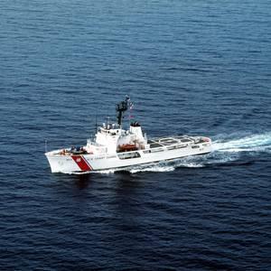 Change of Command for U. S. Coast Guard Cutter Vigilant