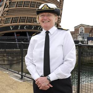 UK Royal Navy Appoints First Woman Admiral