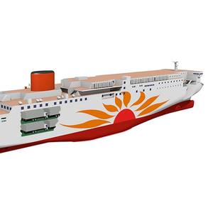 MOL Inks Deal with MHI for LNG-Fueled Ferries