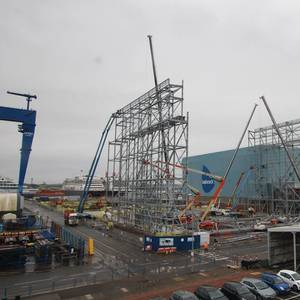 Shipbuilding: Construction Starts on Massive Type 31 'Frigate Factory' in Rosyth