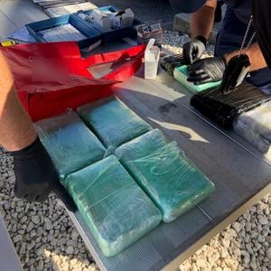 Coast Guard, HSI, CBP Interdict Suspected Smuggler, Migrants, and Drugs