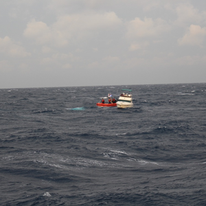 Coast Guard Rescues 31 From Disabled Boat North of Bimini