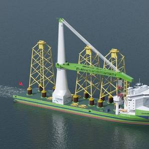 Taiwan: Keel Laying Ceremony Held for Offshore Wind Installation Vessel Green Jade