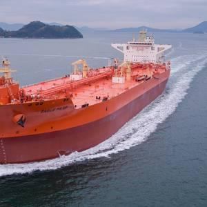 Samsung Delivers Eagle Pilar Shuttle Tanker to AET