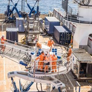Ampelmann Launches Electric Version of its A-type Gangway