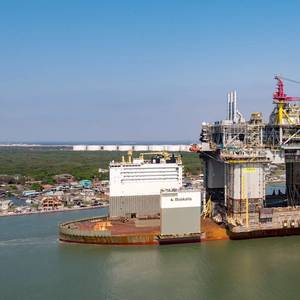 Gallery: BP's Giant Argos Platform Arrives in Texas