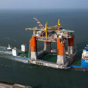 King's Quay Floating Production Unit Reaches Texas
