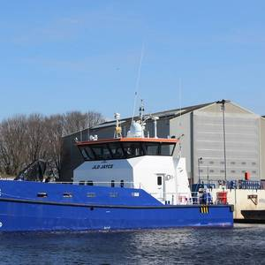 AMS Buys Damen Fast Crew Supplier to Serve French Offshore Wind Market