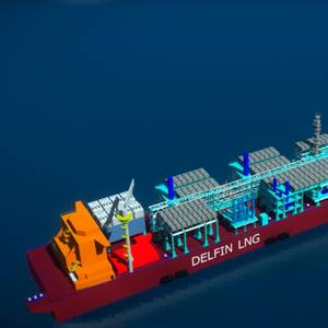 FEED Completed for Delfin FLNG Vessel