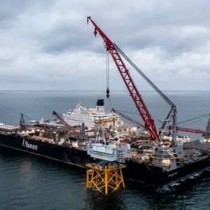 First Offshore Wind Substation Installed in France