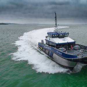 VIDEO: Diverse Marine Delivers Offshore Wind CTV to Turner Iceni
