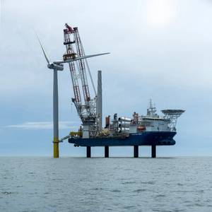 Huisman to Deliver Crane for First Jones Act Compliant Offshore Wind Installation Vessel