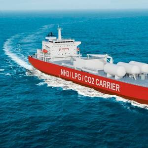 Exmar, Lattice Working on 40,500 m3 CO2 Carrier