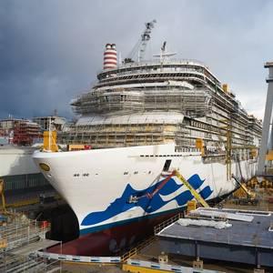 Fincantieri Floats Out 'Discovery Princess'