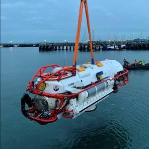 Forum Builds Advanced Submarine Rescue Vehicle