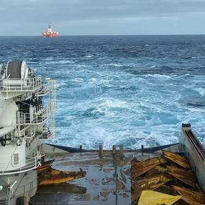 Anchor Handling 'World Record' for Island Offshore's Vessel