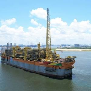 VIDEO: Guyana's Second FPSO Sets Sail from Singapore