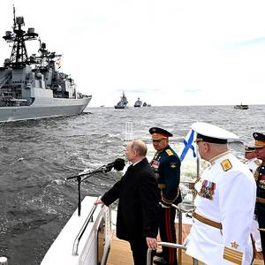 Putin: Russian Navy Can Detect 'Any Enemy' and Launch 'Unpreventable' Strike