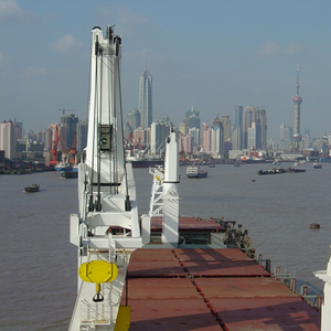 MacGregor Cranes for Asia-built Cargo Ship Quartet
